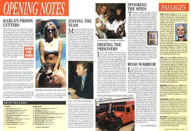 Article Preview: BEST-SELLERS, September 1994 | Maclean's