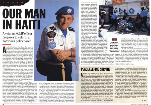 Article Preview: OUR MAN IN HAITI, October 1994 | Maclean's