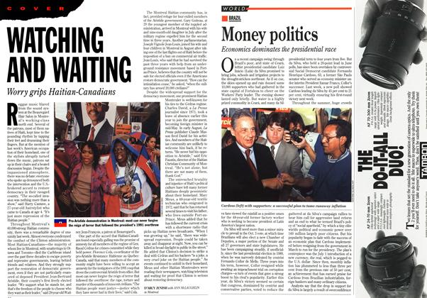 Article Preview: WATCHING AND WAITING, October 1994 | Maclean's
