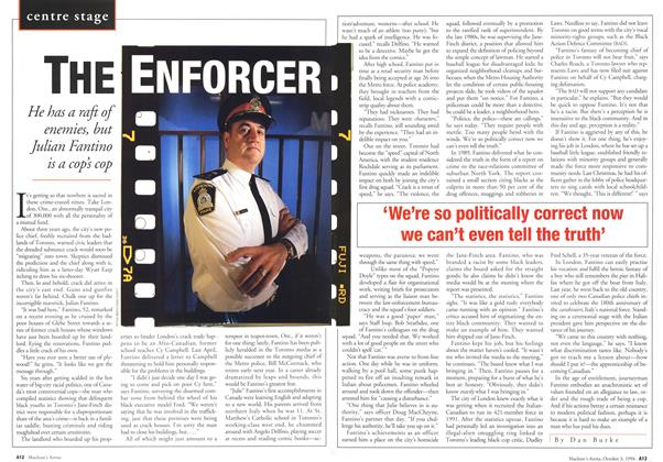 Article Preview: THE ENFORCER, October 1994 | Maclean's