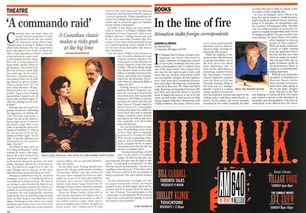 Article Preview: 'A commando raid', October 1994 | Maclean's