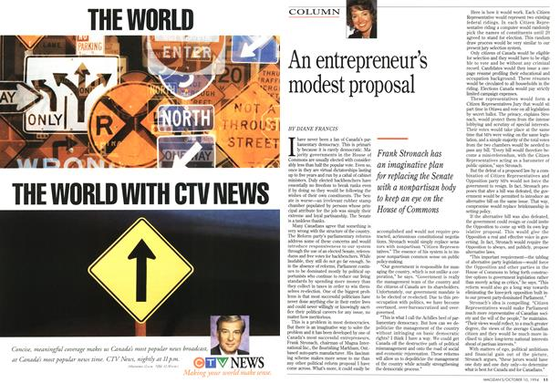 Article Preview: An entrepreneur's modest proposal, October 1994 | Maclean's