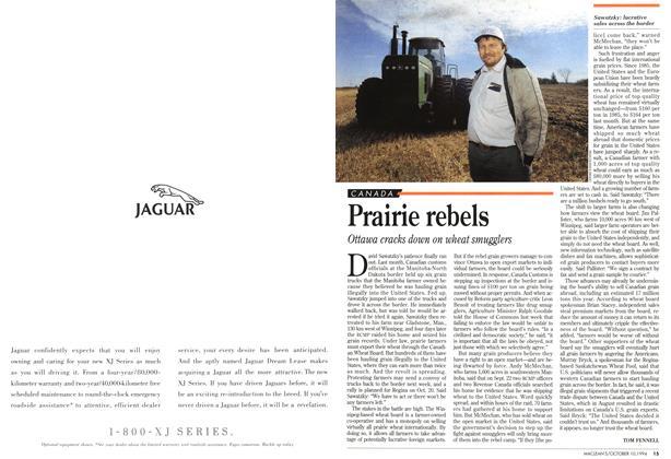 Article Preview: Prairie rebels, October 1994 | Maclean's