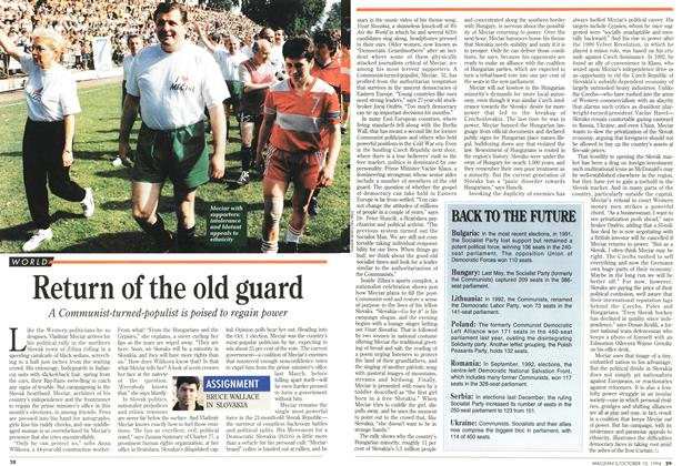 Article Preview: Return of the old guard, October 1994 | Maclean's