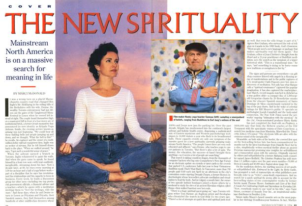 Article Preview: THE NEW SPIRITUALITY, October 1994 | Maclean's