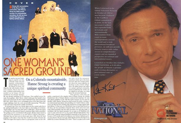 Article Preview: ONE WOMAN'S SACRED GROUND, October 1994 | Maclean's