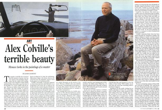 Article Preview: Alex Colville's terrible beauty, October 1994 | Maclean's