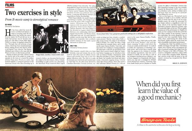 Article Preview: Two exercises in style, October 1994 | Maclean's