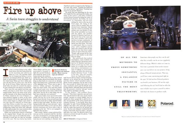 Article Preview: Fire up above, October 1994 | Maclean's