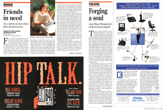 Article Preview: Forging a soul, October 1994 | Maclean's