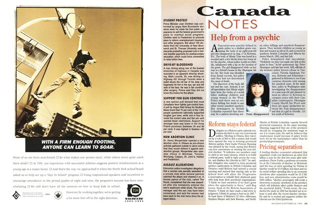Article Preview: Canada NOTES, October 1994 | Maclean's