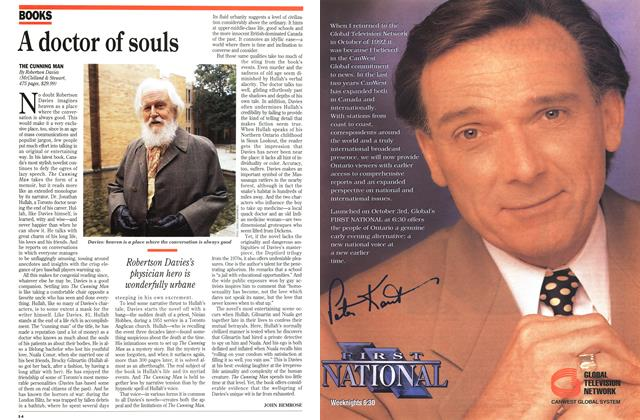 Article Preview: A doctor of souls, October 1994 | Maclean's