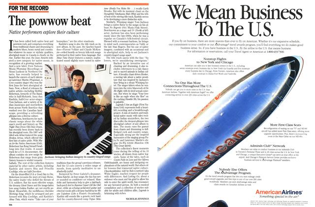 Article Preview: The powwow beat, October 1994 | Maclean's