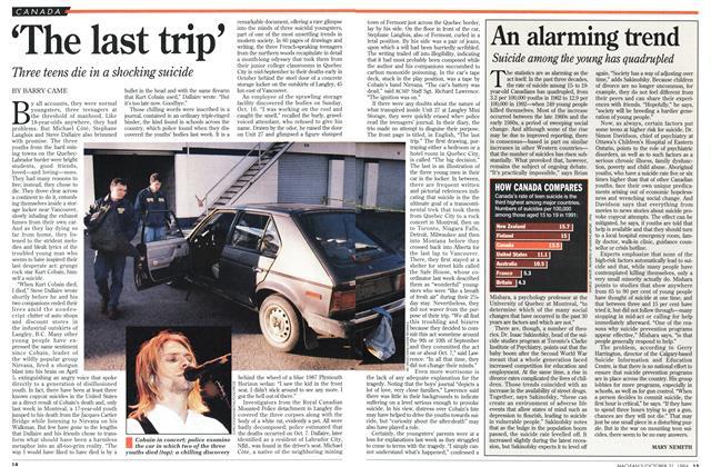 Article Preview: 'The last trip', October 1994 | Maclean's