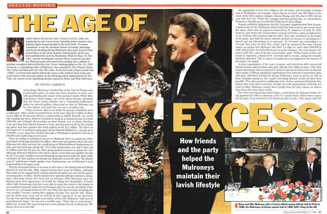 Article Preview: THE AGE OF EXCESS, October 1994 | Maclean's