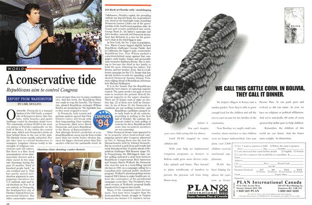 Article Preview: A conservative tide, October 1994 | Maclean's