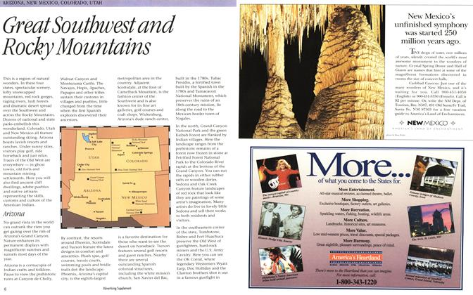 Article Preview: Great Southwest and Rocky Mountains, October 1994 | Maclean's