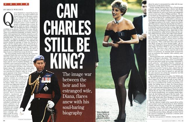 Article Preview: CAN CHARLES STILL BE KING?, October 1994 | Maclean's