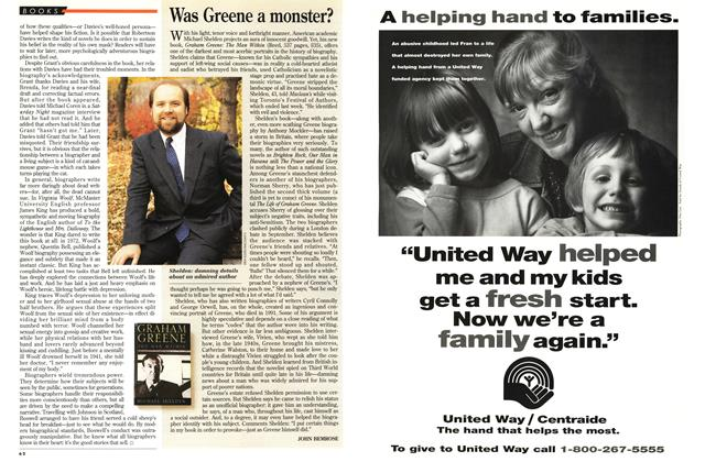 Article Preview: Was Greene a monster?, October 1994 | Maclean's