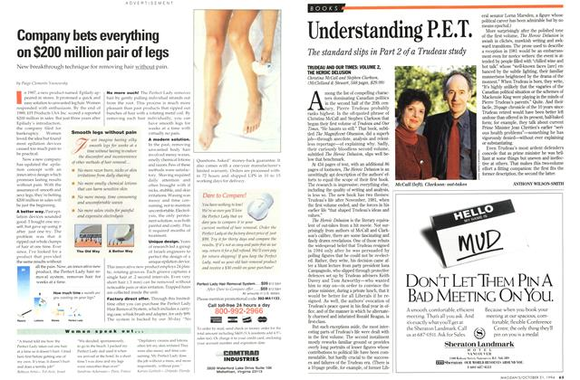 Article Preview: Understanding P.E.T., October 1994 | Maclean's