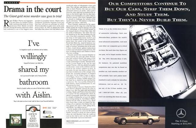Article Preview: Drama in the court, November 1994 | Maclean's