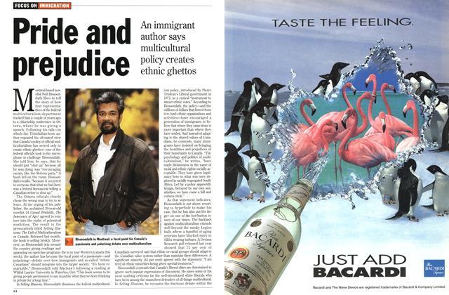 Article Preview: Pride and prejudice, November 1994 | Maclean's