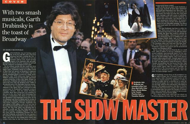 Article Preview: THE SHOW MASTER, November 1994 | Maclean's