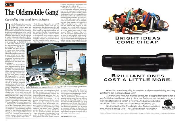 Article Preview: The Oldsmobile Gang, November 1994 | Maclean's