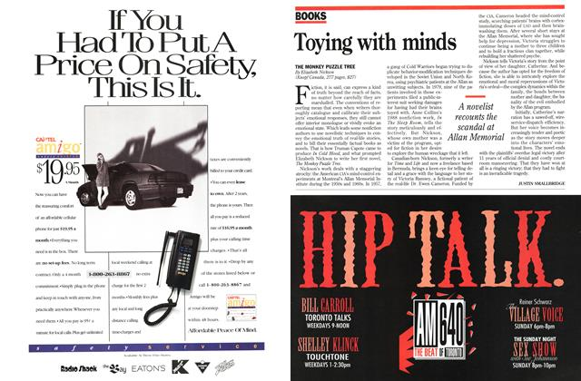 Article Preview: Toying with minds, November 1994 | Maclean's