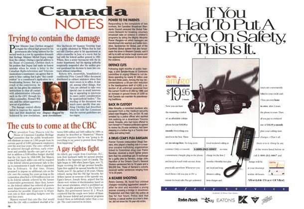Article Preview: A gay rights fight, November 1994 | Maclean's