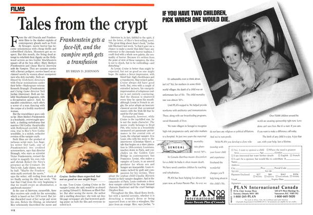 Article Preview: Tales from the crypt, November 1994 | Maclean's