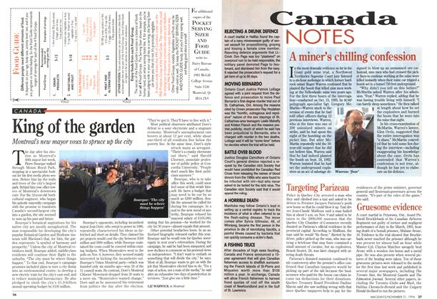 Article Preview: Targeting Parizeau, November 1994 | Maclean's