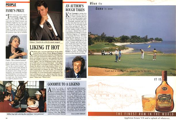 Article Preview: GOODBYE TO A LEGEND, November 1994 | Maclean's