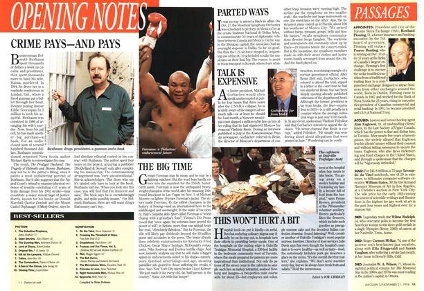 Article Preview: BEST-SELLERS, November 1994   Maclean's