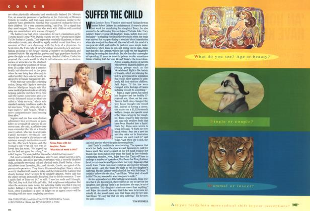 Article Preview: SUFFER THE CHILD, November 1994 | Maclean's