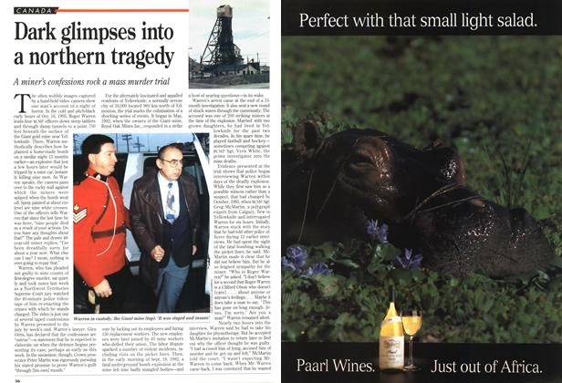 Article Preview: Dark glimpses into a northern tragedy, November 1994 | Maclean's