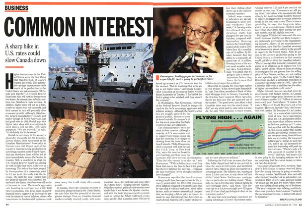 Article Preview: COMMON INTEREST, November 1994 | Maclean's