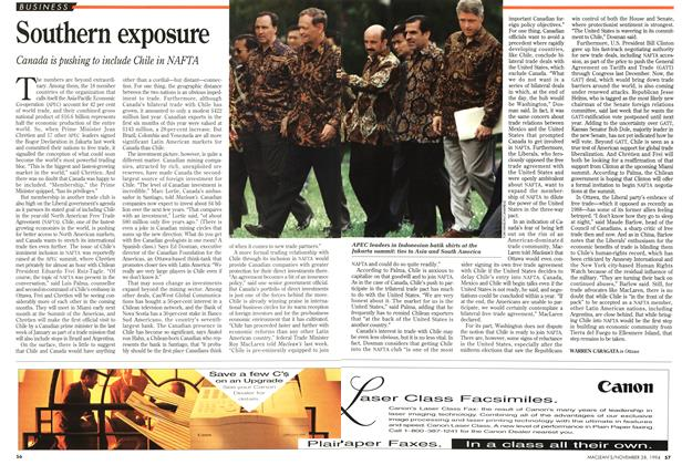 Article Preview: Southern exposure, November 1994 | Maclean's