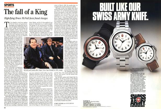 Article Preview: The fall of a King, November 1994 | Maclean's