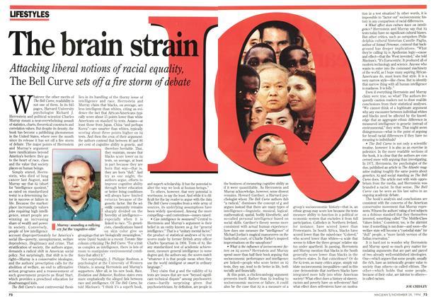 Article Preview: The brain sirain, November 1994   Maclean's