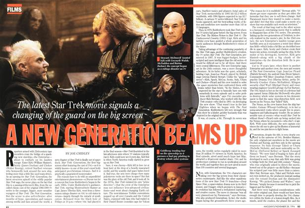 Article Preview: A NEW GENERATION BEAMS UP, November 1994 | Maclean's