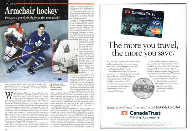 Article Preview: Armchair hockey, November 1994 | Maclean's