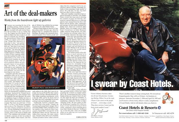 Article Preview: Art of the deal-makers, November 1994 | Maclean's