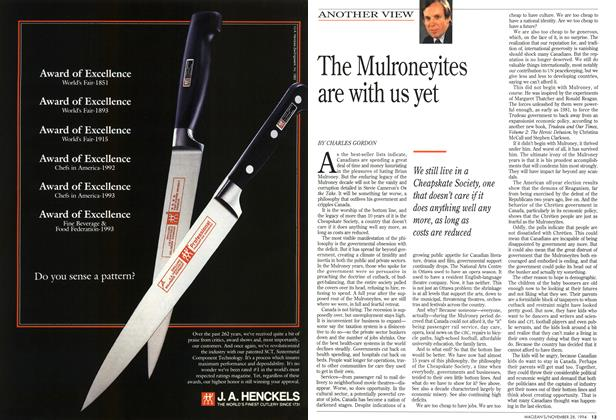 Article Preview: The Mulroneyites are with us yet, November 1994 | Maclean's