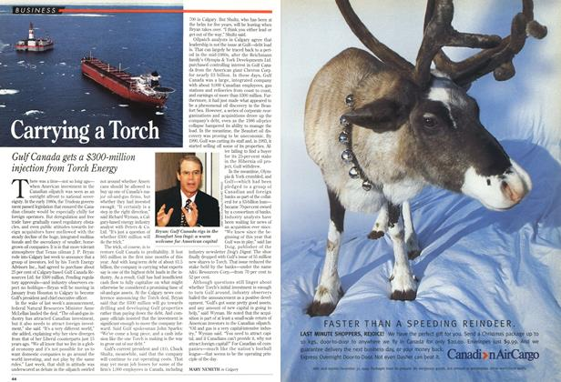 Article Preview: Carrying a Torch, December 1994 | Maclean's