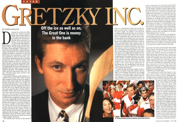 Article Preview: GRETZKY INC., December 1994 | Maclean's