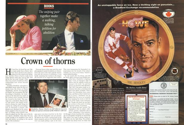 Article Preview: Crown of throns, December 1994 | Maclean's