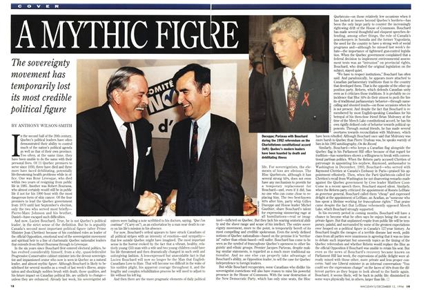 Article Preview: A MYTHIC FIGURE, December 1994 | Maclean's