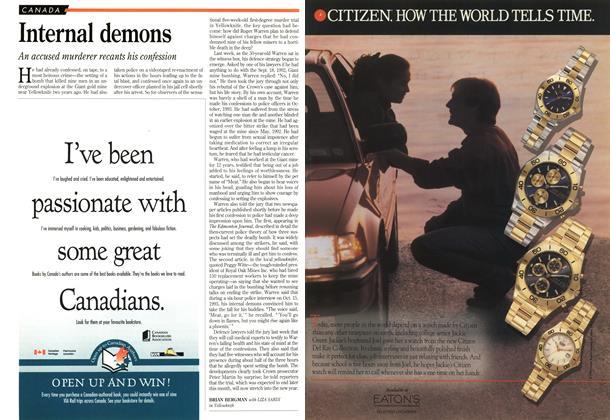 Article Preview: Internal demons, December 1994 | Maclean's