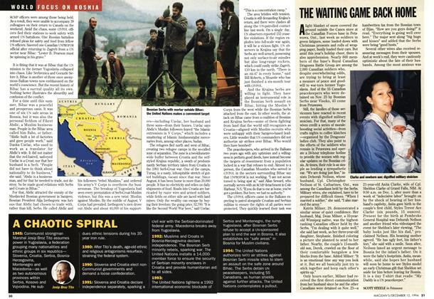 Article Preview: THE WAITING GAME BACK HOME, December 1994 | Maclean's